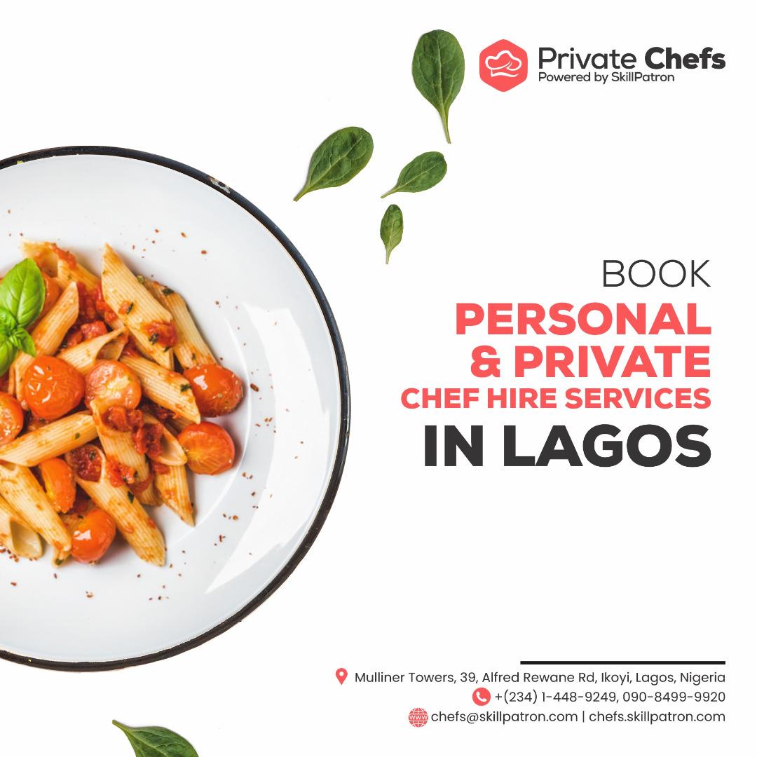 book personal private chef
