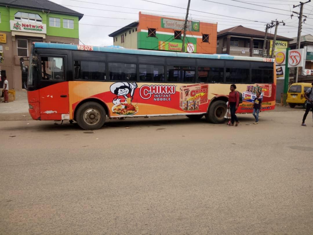 Chikki Noodles 90 Day Brt Bus Branding Fleet Advertising Citymarketing