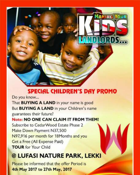 buy land in lekki