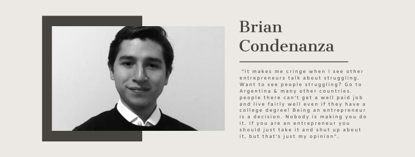 Brian Condenanza, Bidao, Blockchain Startups