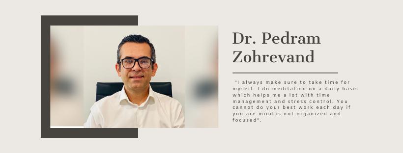 Dr. Pedram Zohrevand - President of CES4