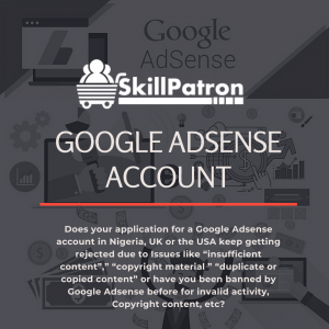 Adsense Account Create, Adsense Account For Youtube, Buy Adsense Account Nigeria, Buy Adsense Approved Website, Buy Google Adsense Account In Nigeria, Google Ads Login, Google Adsense Account Create, Google Adsense Earnings, Google Adsense For Youtube, Google Adsense Login, Google Adsense Payment, Google Adsense Sign Up, Google Adsense Tutorial, Google Analytics, How To Enable Adsense In Youtube, Pin Verified Adsense Account For Sale, Related Searches, Risk Of Linking Multiple Youtube Channels With One Adsense Account, Sell Adsense Account, Youtube Adsense Earnings, Youtube Adsense Requirements, Youtube Adsense Requirements 2020, Youtube Partner Program,