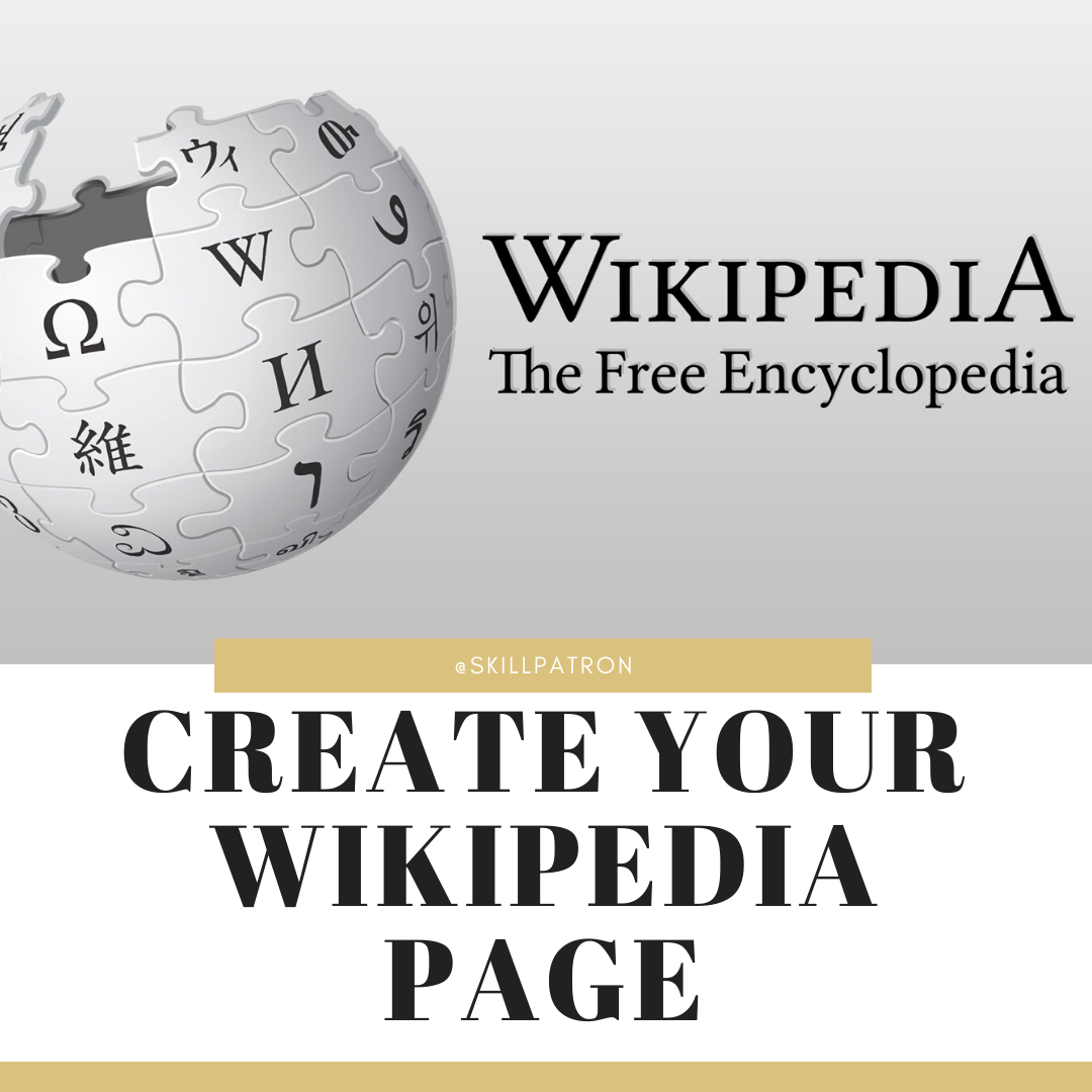create-your-wikipedia-page