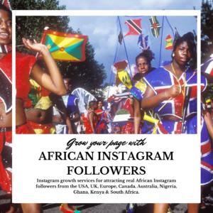 African Instagram Followers