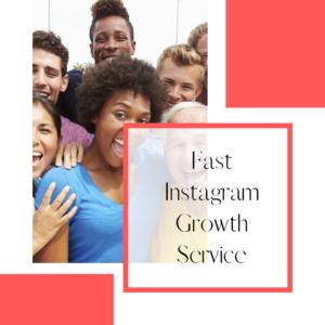 Fast Organic Instagram Growth Service