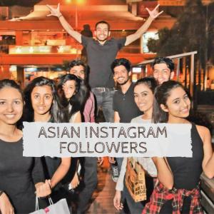 buy asian followers